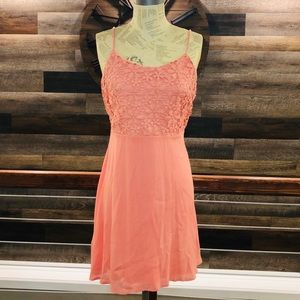 Altar'd State Dress in Peach